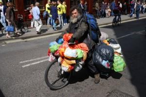 Londýnský bezdomovec