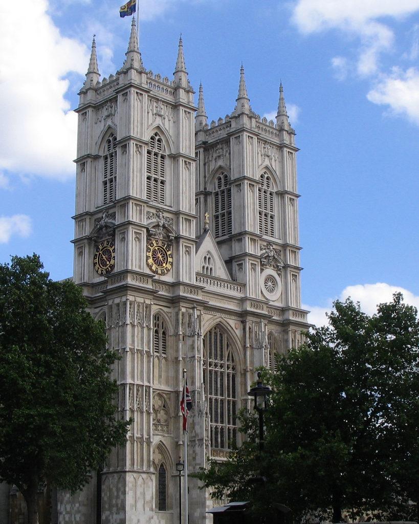 Westminster Abbey západní věže