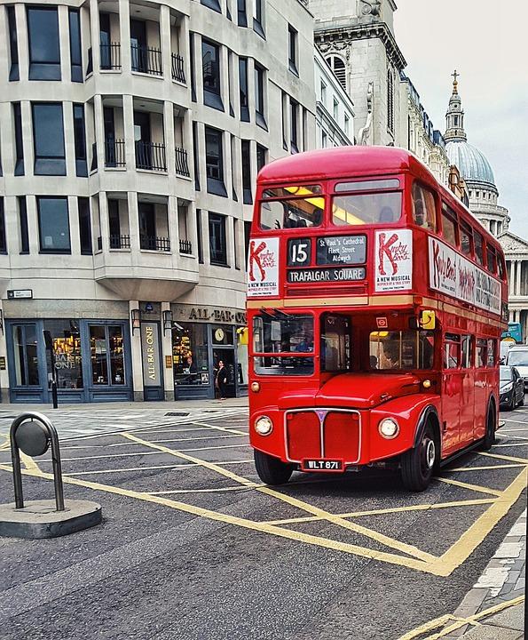 Londýnský autobus - double decker