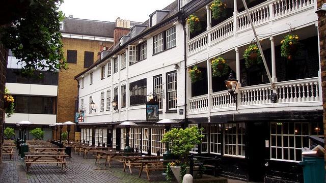 The George Inn in London