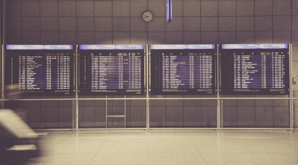 Letiště - přílety,odlety