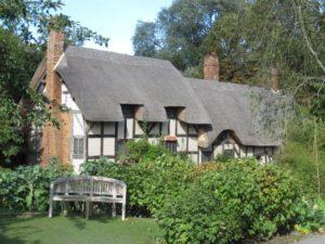 Anna Hathaway Cottage nedaleko Stratfordu