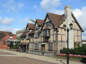 Rodný dům Williama Shakespeara ve Stratfordu